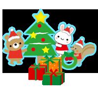 クリスマス会・お誕生日のビデオ撮影・DVD制作・写真撮影